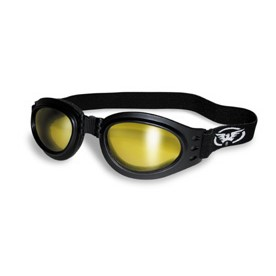GOGGLES: ADVENTURE YELLOW TINT MIRRORED LENSES