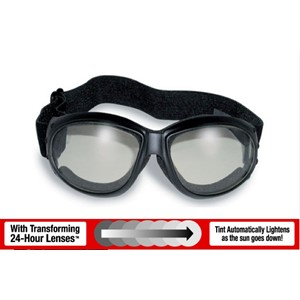 GOGGLES: ELIMINATOR 24 PHOTOCHROMIC LENSES, CLEAR TO SMOKE