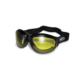 GOGGLES: ELIMINATOR YELLOW TINT MIRRORED LENSES