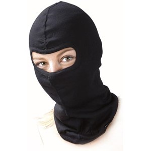 BALACLAVA WITH SINGLE EYE HOLE, COTTON