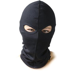 BALACLAVA WITH TWO EYE HOLE, COTTON