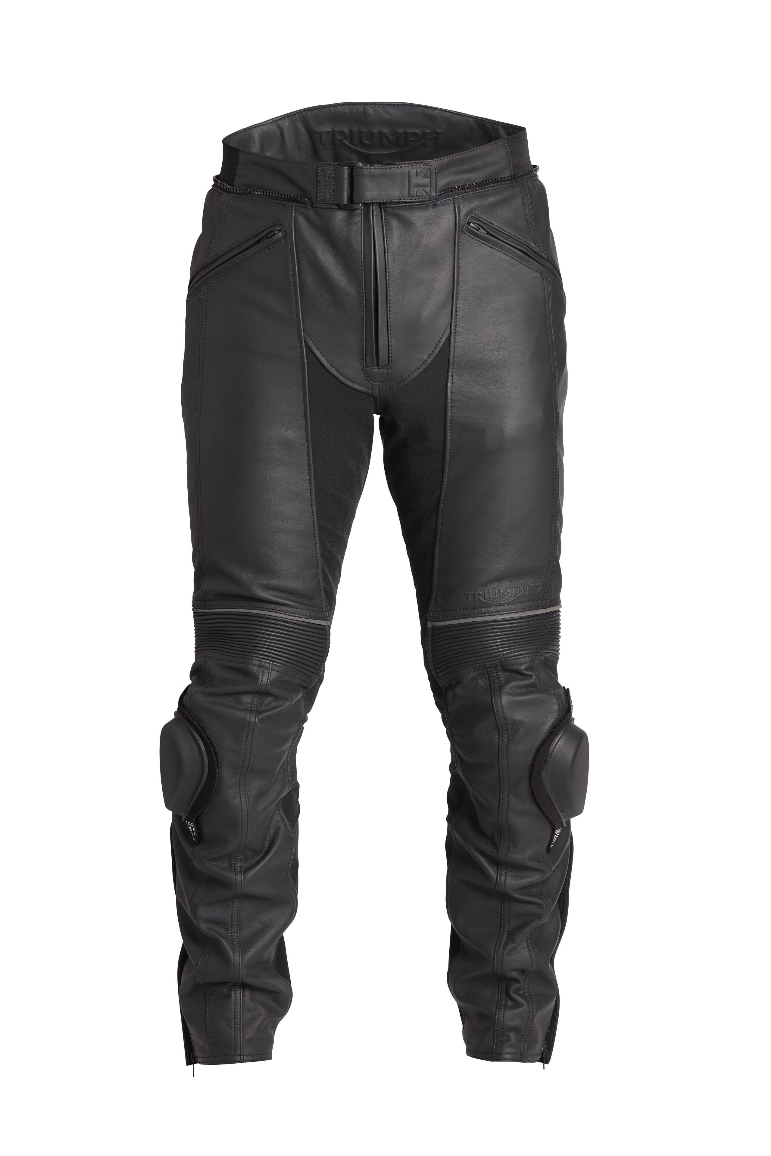 MC klær Triumph i skinn| Stort utvalg rask levering | Team