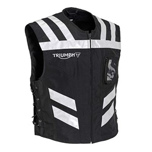 TRIUMPH BLACK BRIGHT VEST